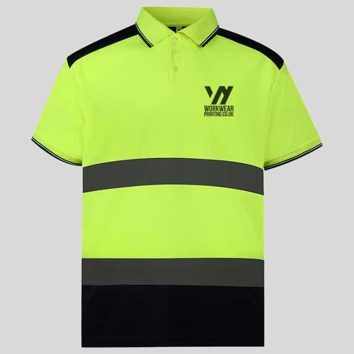 Personalised Hi-Vis Polo Shirts