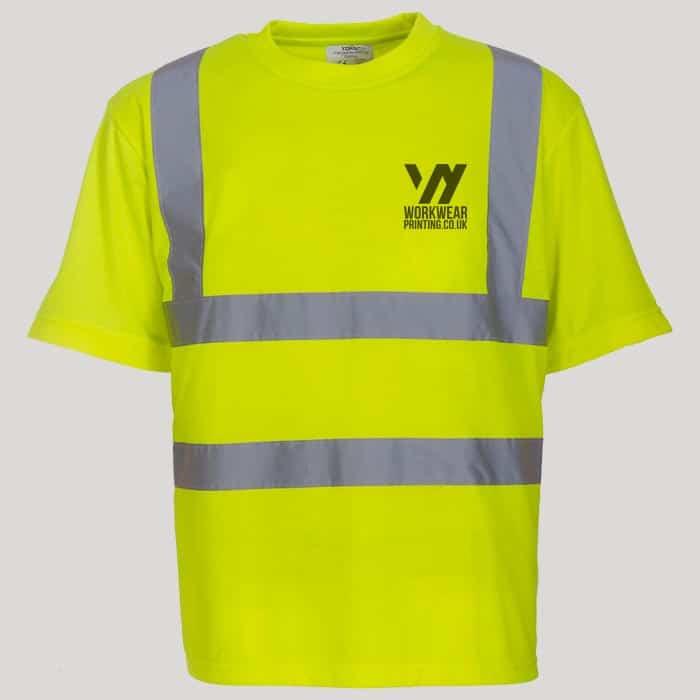 Personalised Hi-Vis T Shirt