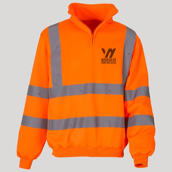 Personalised Hi Vis Jumper