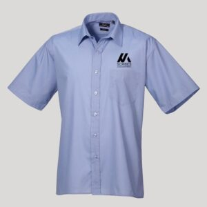 Mens Personalised Short Sleeve Shirt