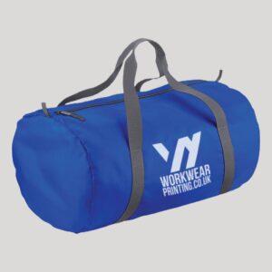 Personalised Barrel Bag
