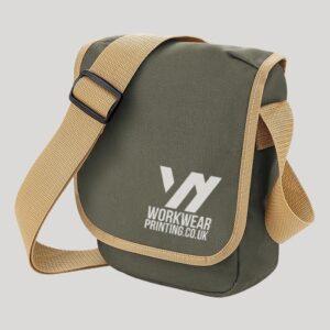Personalised BagBase Mini Reporter Bag