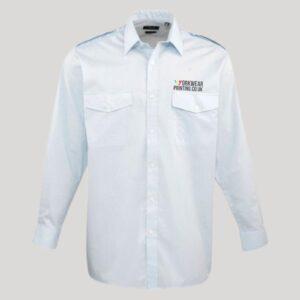 Personalised Long Sleeve Pilot Shirt