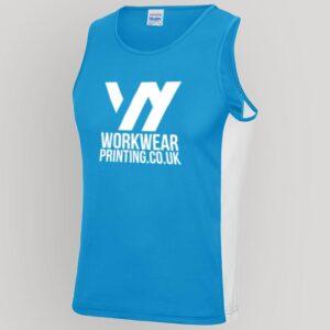 Personalised Mens Gym Vest