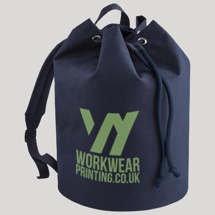 Personalised BagBase Drawstring Backpack