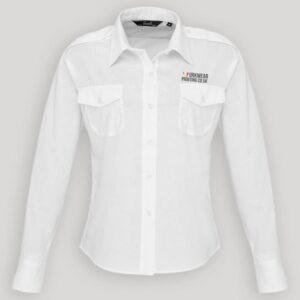 Personalised Ladies Pilot Shirt
