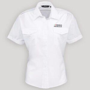Ladies Personalised Short Sleeve Shirt