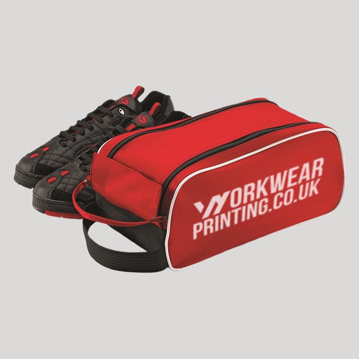 Personalised Quadra Teamwear Shoe Bag
