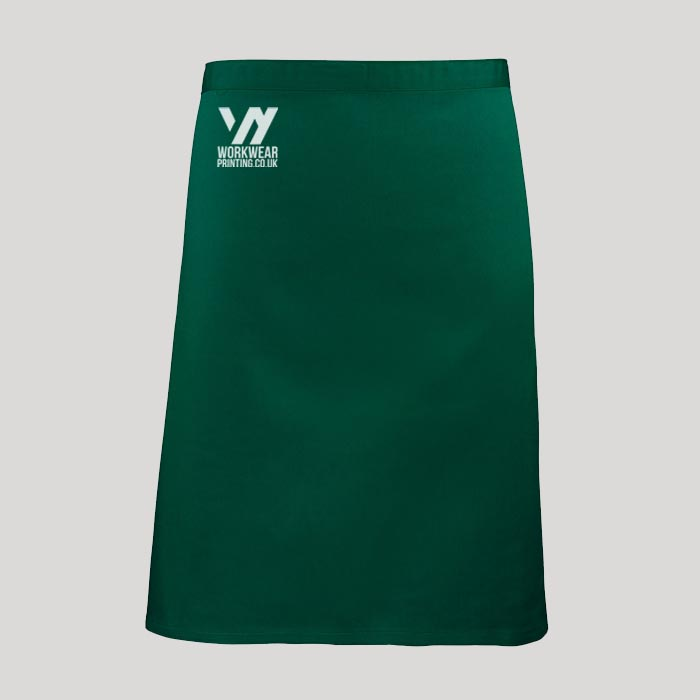 Personalised Mid Length Apron