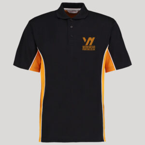 Personalised two tone polo shirt