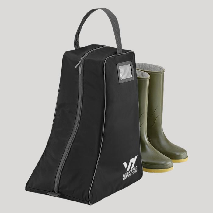 Personalised Quadra Wellington Boot Bag